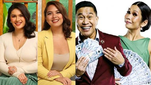 Abs Cbn Gma 7 Stars Are Together In Tv5 Shows No More Network War Pep Ph
