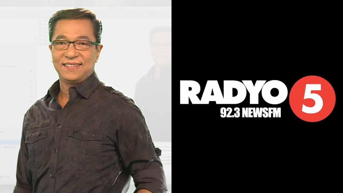 Ted Failon Radyo Singko transfer