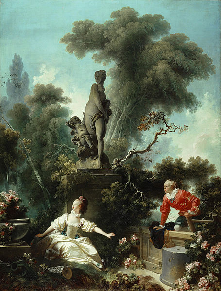 The Meeting, Jean-Honore Fragonard