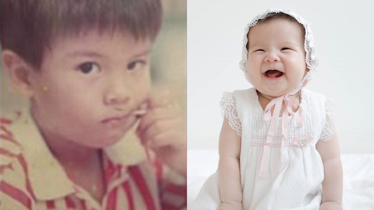 Erwan Heussaff, Baby Dahlia Amelie