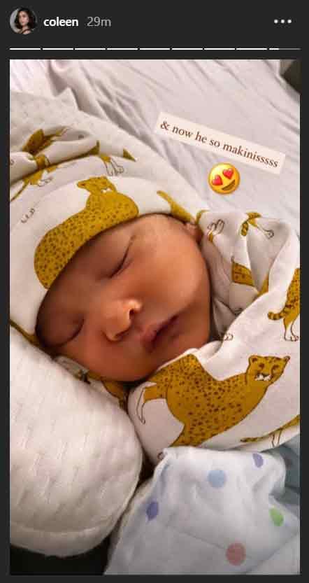 Coleen Garcia uses her breast milk to heal son Amari's rashes