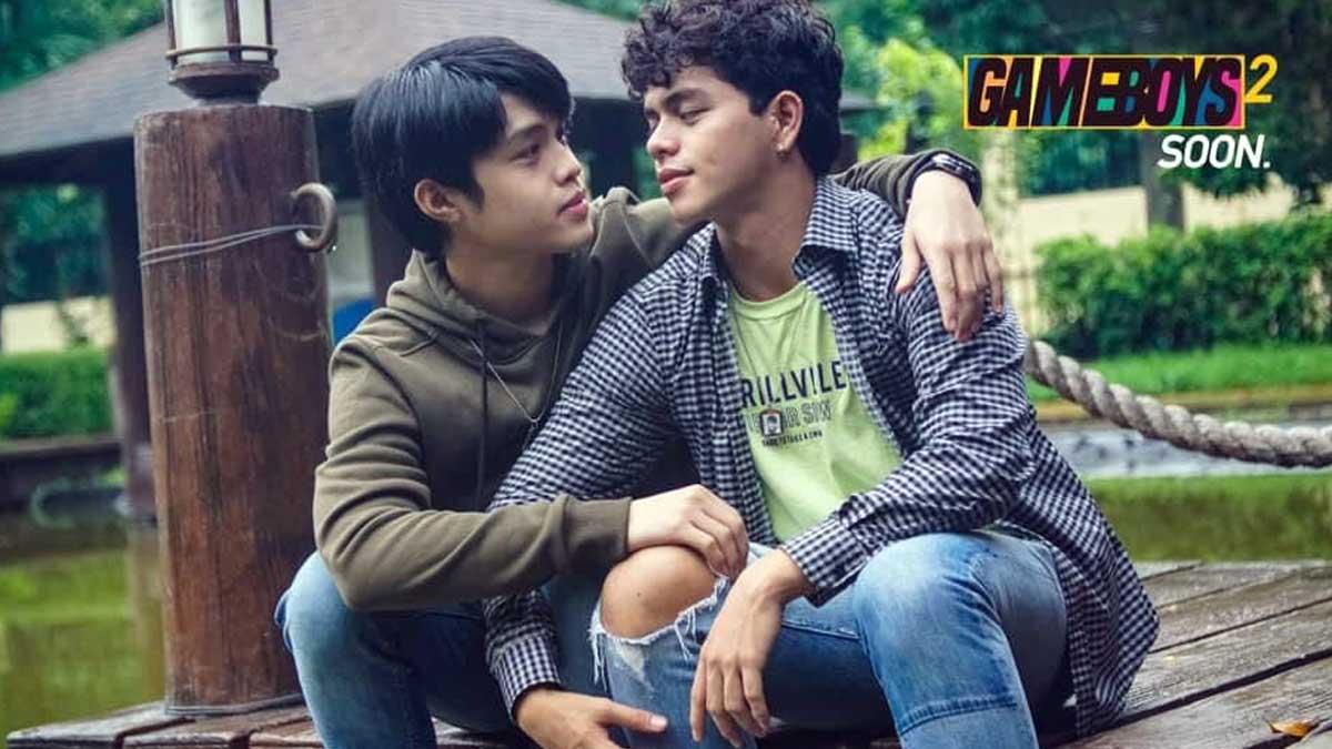 Elijah Canlas and Kokoy de Santos in a teaser photo for the season 2 of Gameboys.