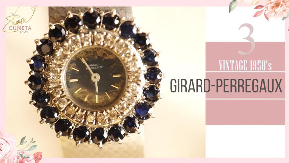 Sharon Cuneta, Sharon Cuneta luxury watch