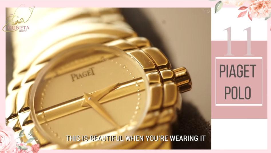 Sharon Cuneta, Sharon Cuneta expensive watches