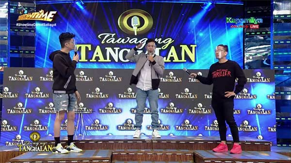 Here's how the Tawag ng Tanghalan stage looks like now.