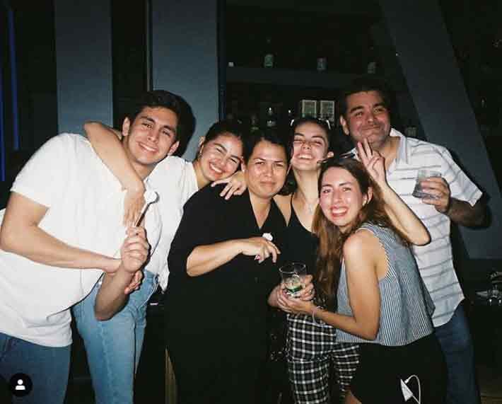 Janine Gutierrez Family