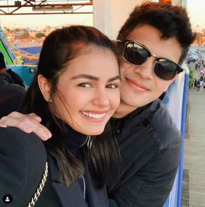 Janine Gutierrez and Rayver Cruz
