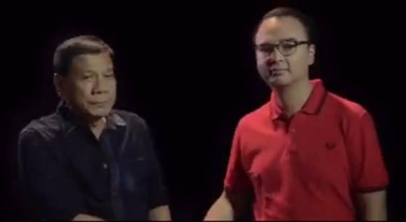 Rodrigo Duterte, Alan Peter Cayetano