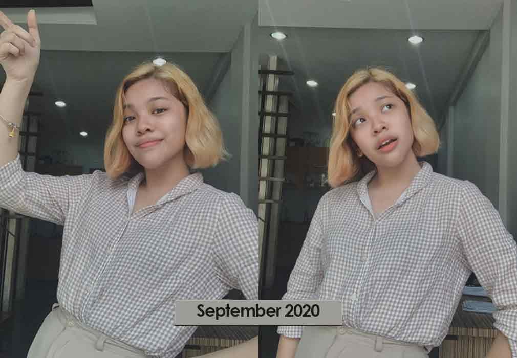 Elha Nympha 2020 transformation