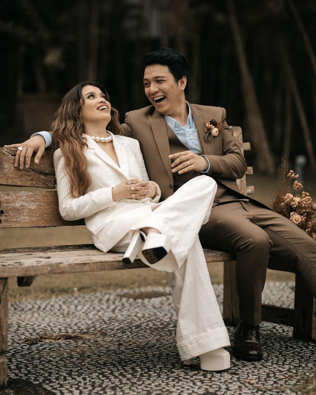 KZ Tandingan bridal look