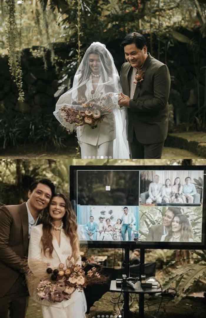 KZ Tandingan, TJ Monterde Wedding