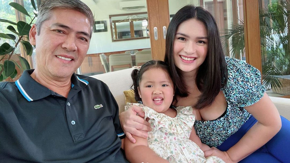 Vic Sotto, daughter Tali, and wife Pauleen Luna-Sotto.