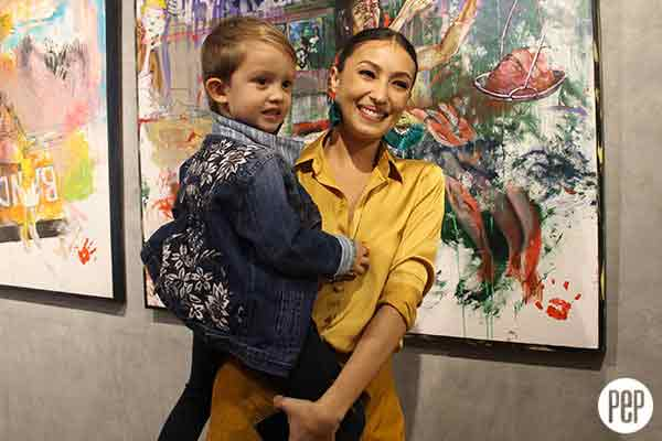 Solenn Heussaff Paintings