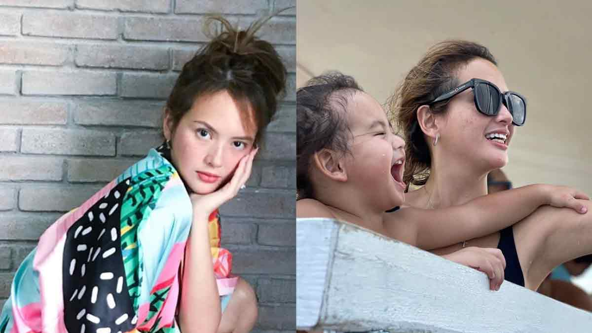 Ellen Adarna Wants To Be A Good Example to Son Elias