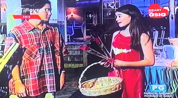 Young Anne Curtis and Chubi del Rosario in TGIS