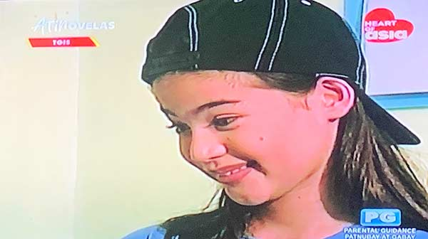 Young Anne Curtis in TGIS