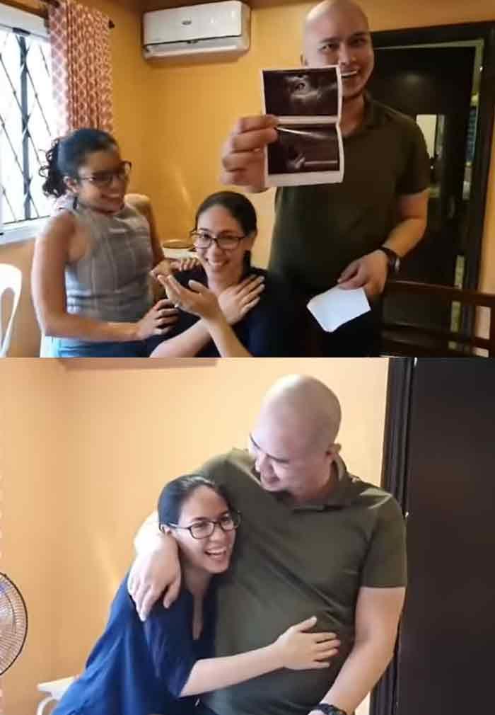 Vaness Del Moral pregnant