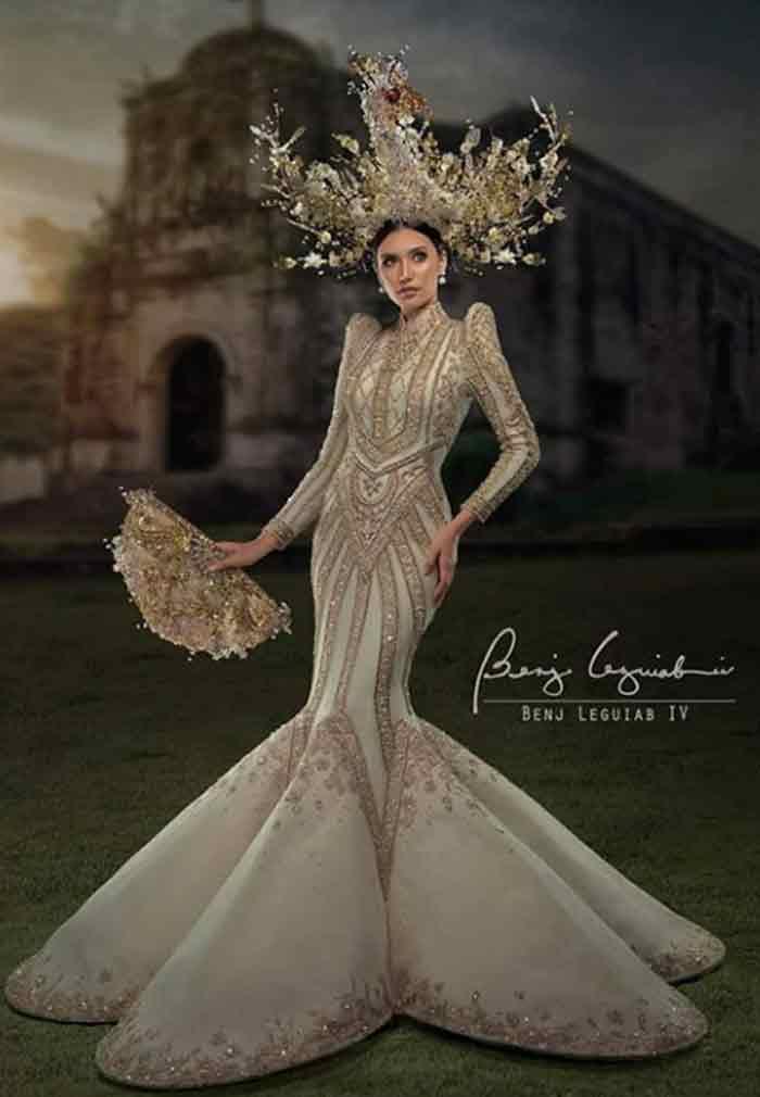 Miss Catanduanes Sigrid Flores terno gown Benj Leguiab IV