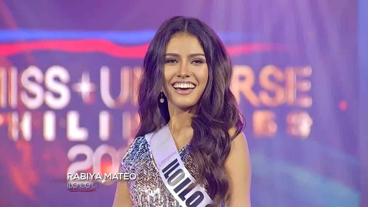 Rabiya Mateo Miss Universe Philippines 2020