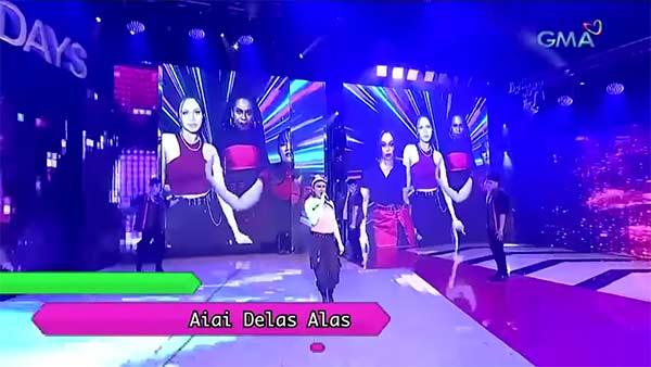 Ai-Ai Delas Alas with XOXO in AOS