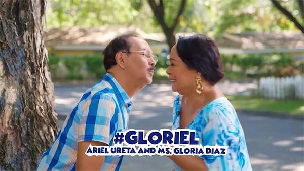 Gloria Diaz and Ariel Ureta in Oh My Dad