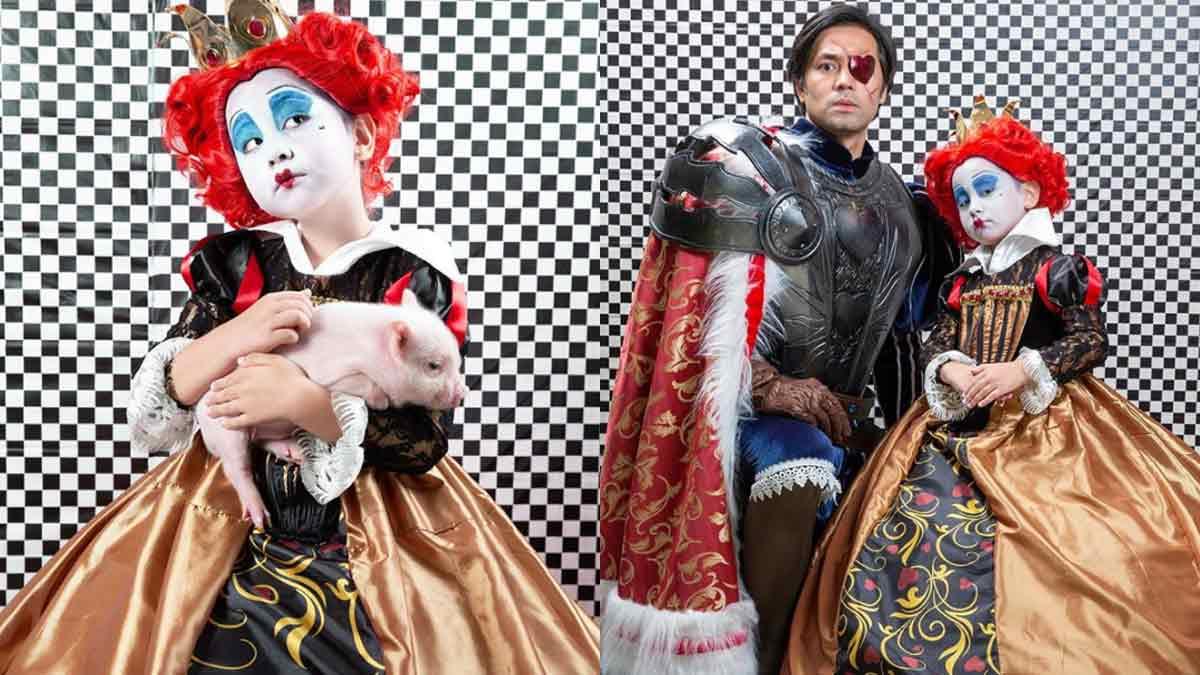 Scarlet Snow Belo Halloween Costume