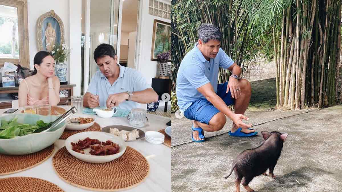 "Lucy Torres, Richard Gomez and their ""farm"" life in Ormoc"