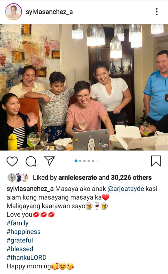 Maine Mendoza joins Atayde family in birthday salubong for