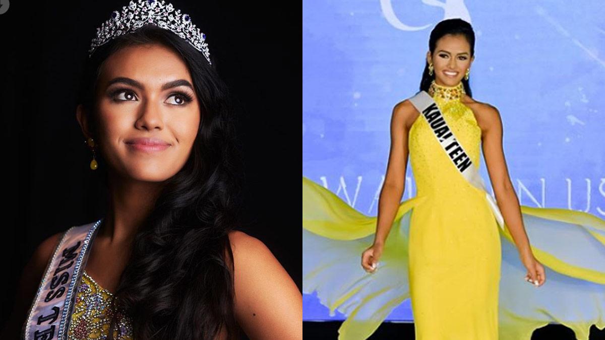Ki'ilani Arruda, Miss Teen USA 2020