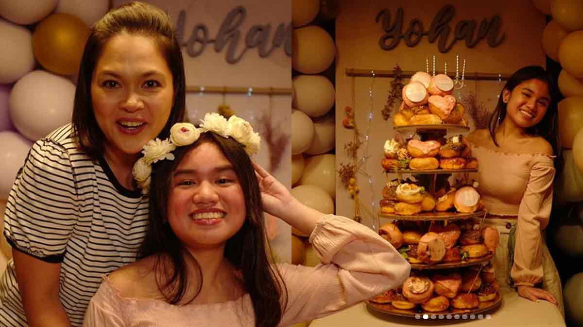 Judy Ann Santos celebrates the 16th birthday of daughter Yohan Agoncillo