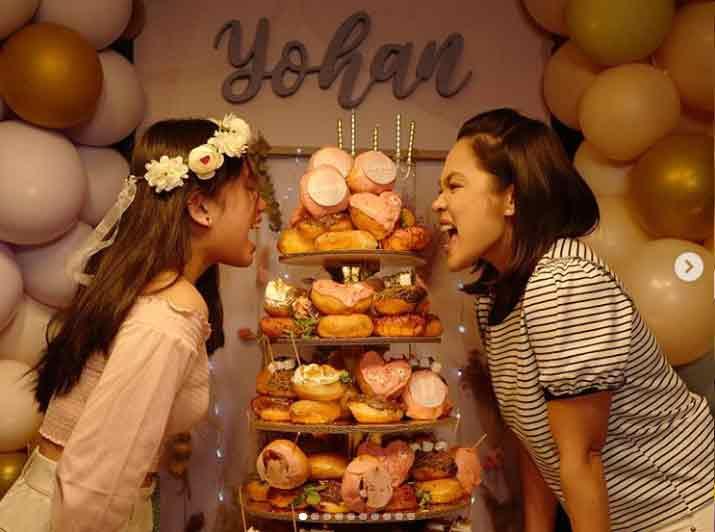 Judy Ann Santos celebrates the 16th birthday of daughter Yohan Agoncillo
