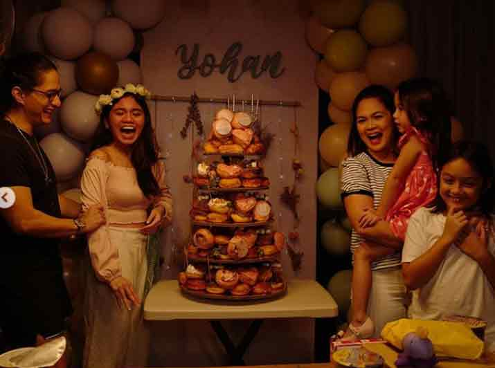 Yohan Agoncillo celebrates her 16th birthday with family