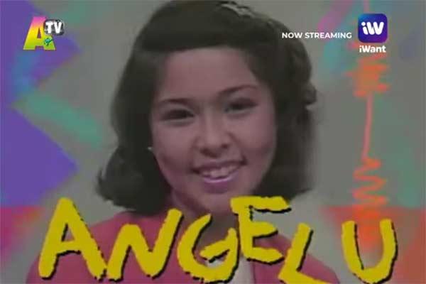 Angelu de Leon in Ang TV