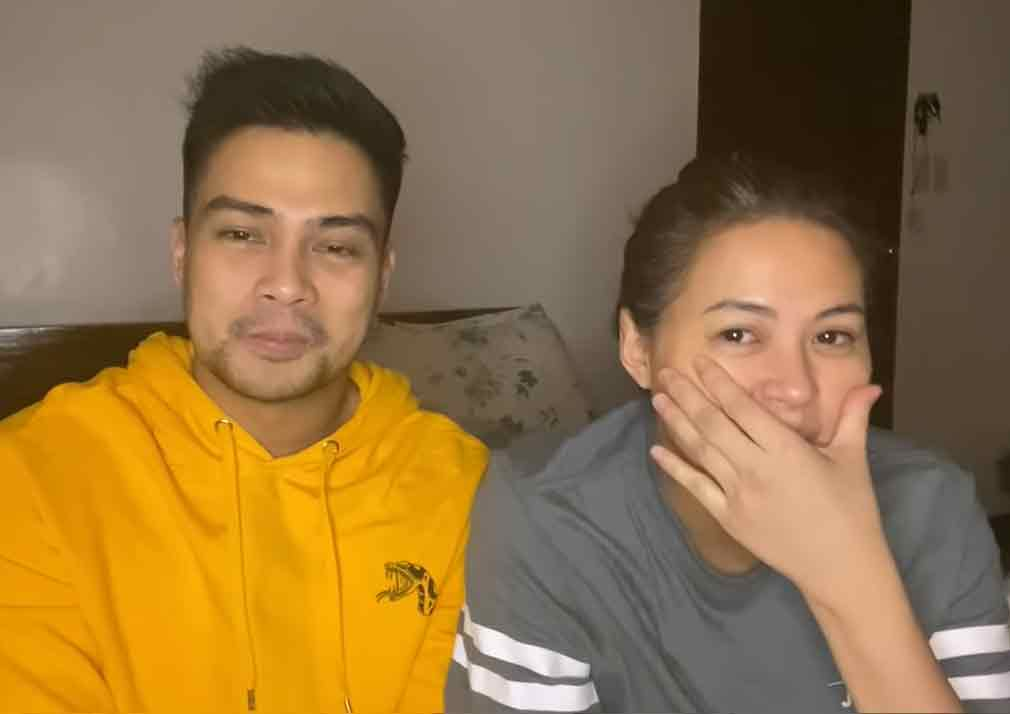 Lara Quigaman, Marco Alcaraz life with three sons