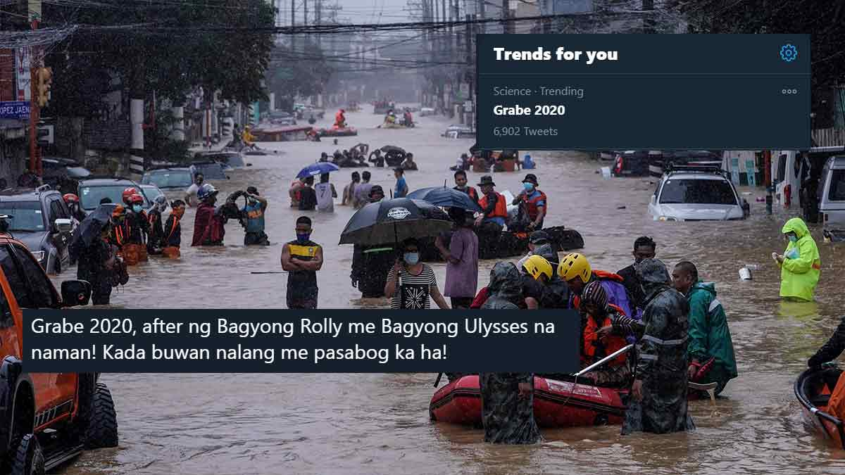 The aftermath of Typhoon Ulysses leaves netizens begging for a peaceful December