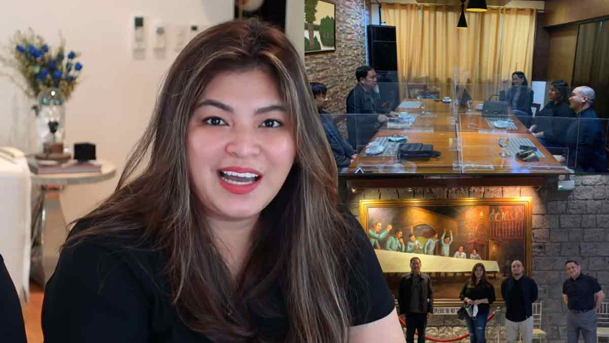Angel Locsin meets Lt. General Parlade Jr. to clear red taggin issues