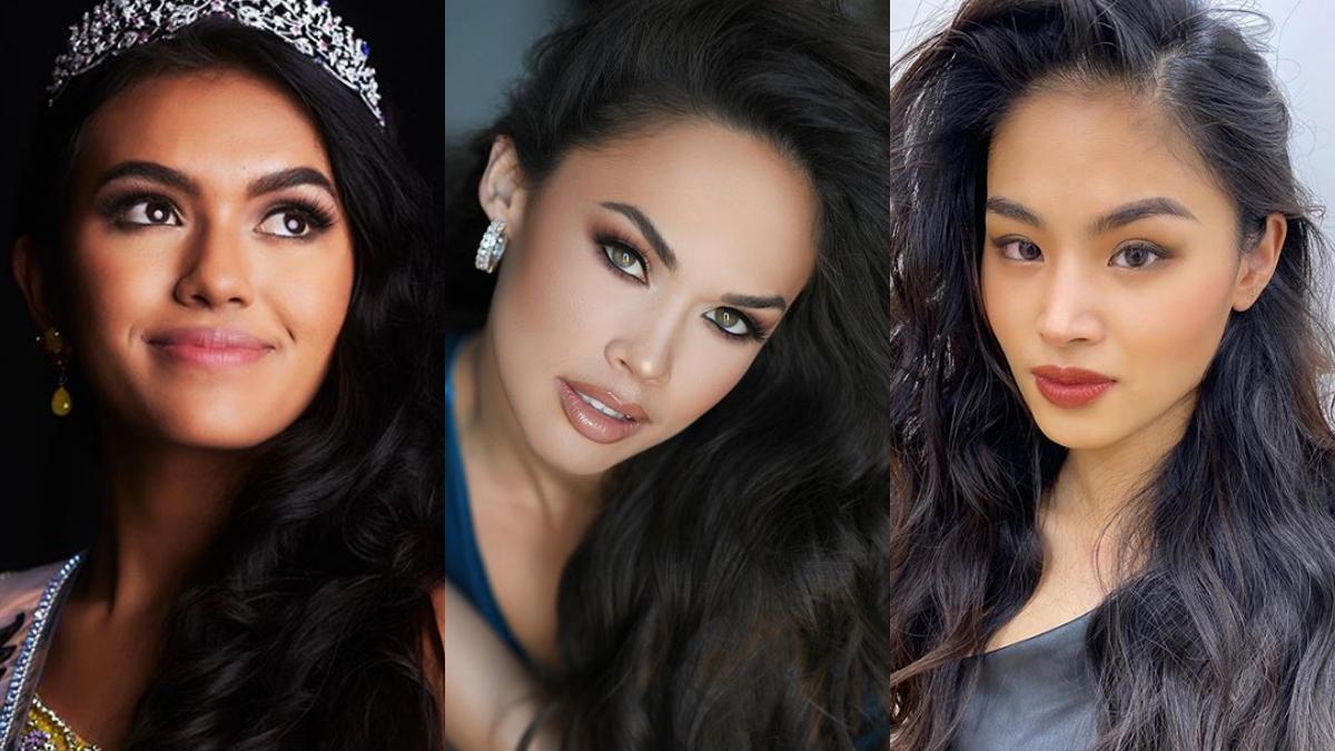 Ki'ilani Arruda, Kim Layne, and Yuki Sonoda are Flipina beauties who dominated at national pageants of countries.