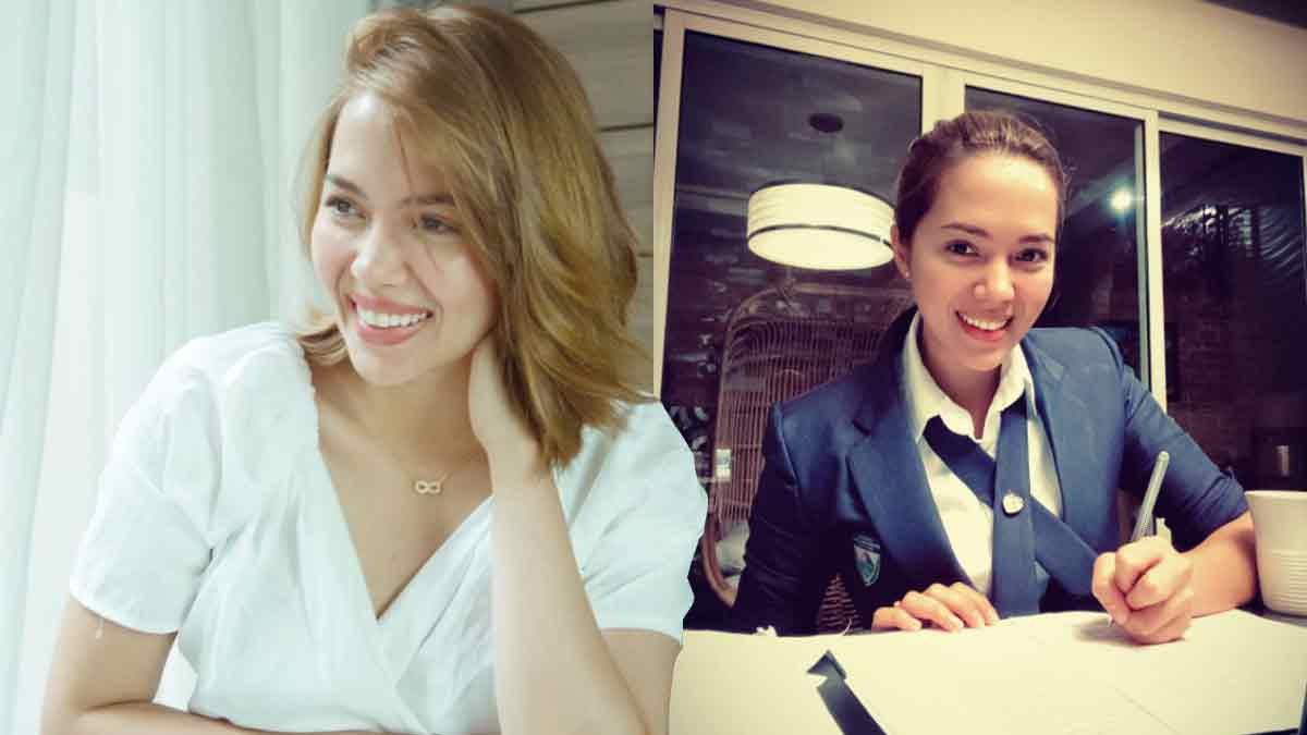 Julia Montes goes back to school