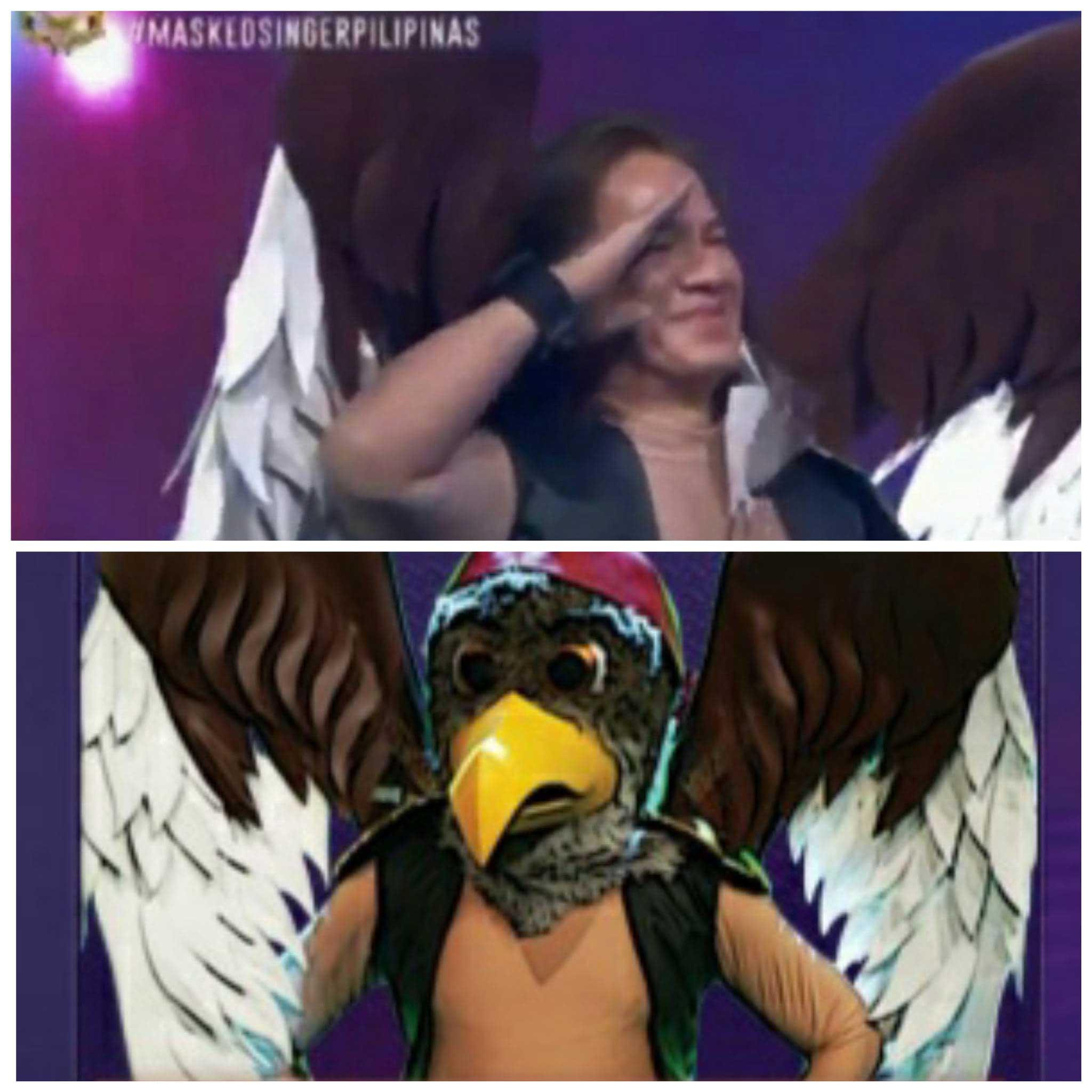 Joey Generoso as Masked Singer Agila in Masked Singer Pilipinas.