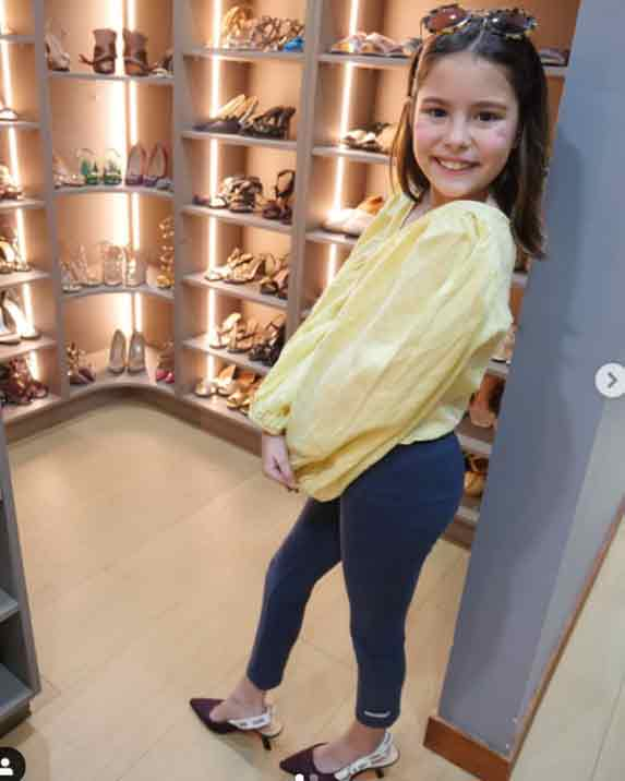 Kendra Kramer fashionista like mom Cheska Kramer