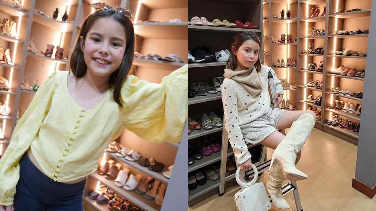 Kendra Kramer shows she is a fashionista like mom Cheska Kramer