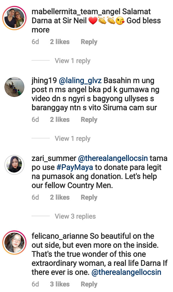 Netizens salute Angel Locsin efforts