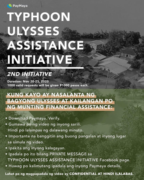 Angel Locsin financial assistance