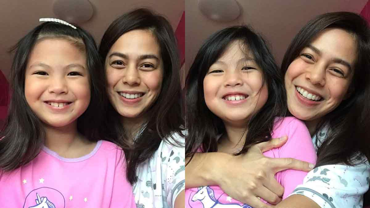 Bettinna Carlos and daughter Gummy