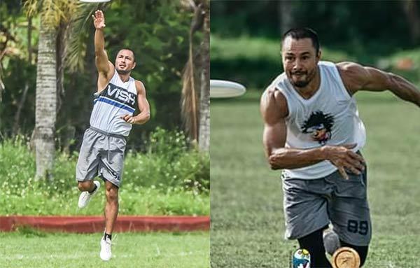 Derek Ramsay Ultimate Frisbee
