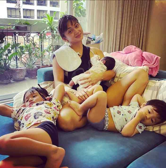 Iya Villania mother of three kids: Primo, Alana, and Leon