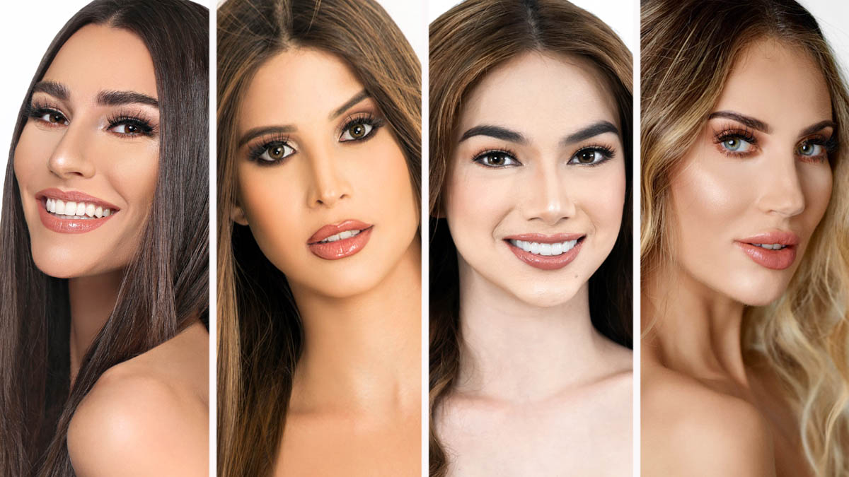 Lindsey Coffey, Stephany Zreik, Roxanne Allison Baeyens, Michala Rubenstein, Miss Earth 2020