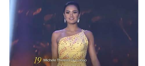 Michele Gumabao Binibining Pilipinas Globe 2018