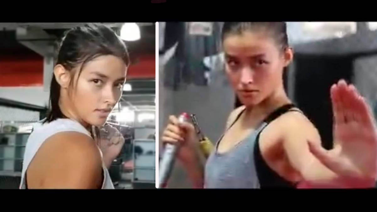 Liza Soberano Darna training