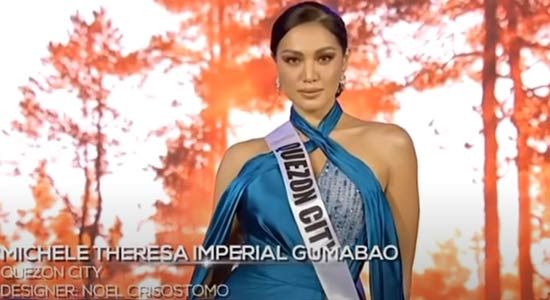Michele Gumabao Miss Universe Philippines 2020